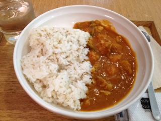 今日は バターチキンカレー@Soup Stock TOKYO